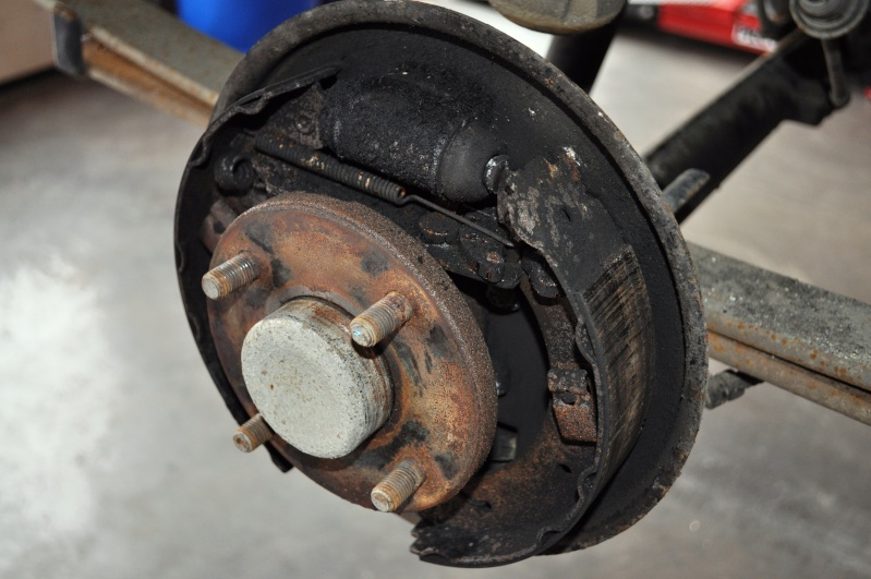 Brake Drums/Rotors - 2001 Ford Escort