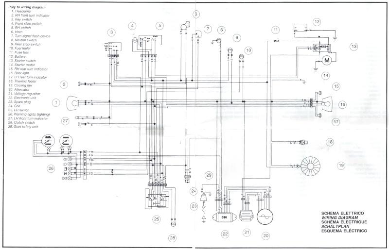 husqvarna te 610 wiring diagram