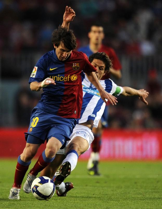 Messi dando Show