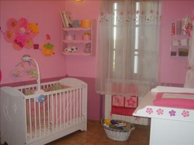Chambre de ma fille je recommence 0 for Chambre violet et rose