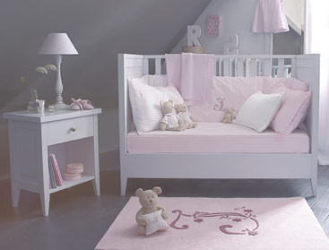 Awesome Chambre Bebe Gris Et Rose Pale Gallery - Matkin.info ...
