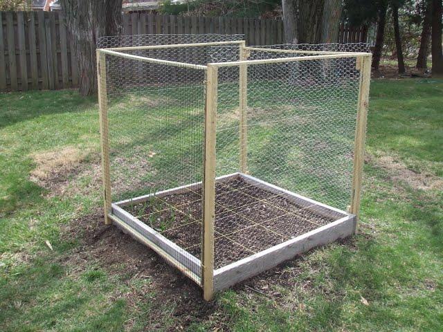 how to build a deer proof funky garden enclosure gardening