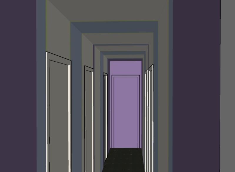 Besoin de vos conseils pour couloir et entr e page 3 - Couloir blanc et gris ...