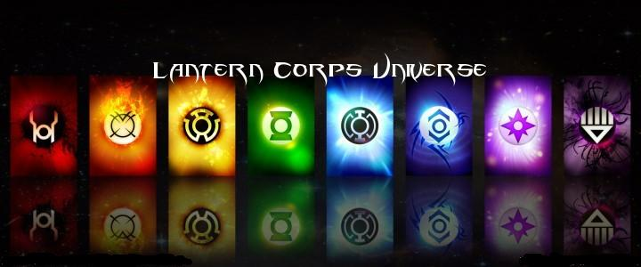 Lantern Corps of the universe
