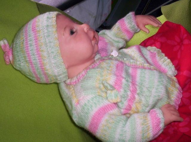 bonnet et tricot