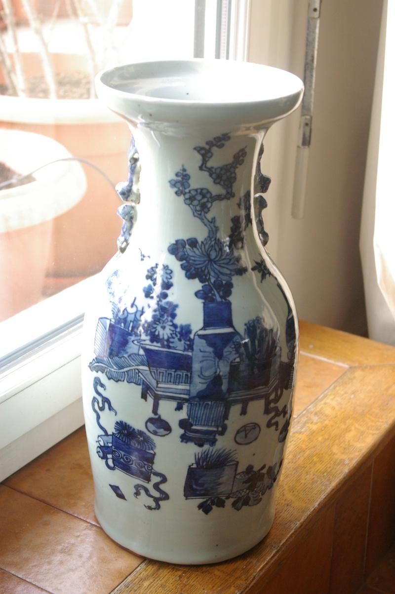 grand vase chinois. Black Bedroom Furniture Sets. Home Design Ideas