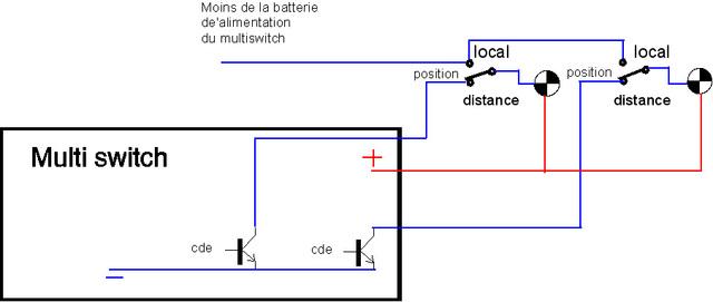interrupteurs et module multi switch. Black Bedroom Furniture Sets. Home Design Ideas