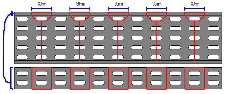 fabriquer un virage avec un chemin de c ble facilement. Black Bedroom Furniture Sets. Home Design Ideas