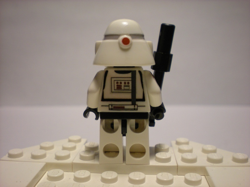 Lego Custom Star Wars Commander Bacara Minifig