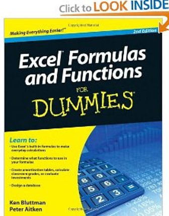 Excel Formulas and Functions For Dummies, 2 Edition
