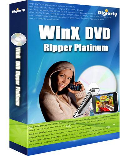 WinX DVD Ripper Platinum v6.0.0