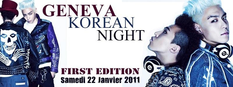 Geneva Korean Night !