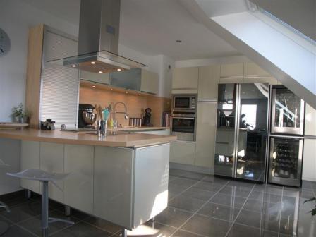 R novation cuisine et s jour for Decoration interieur cuisine moderne
